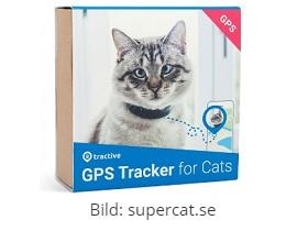 Tractive GPS för katt